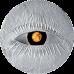 Dzintara monēta reverss