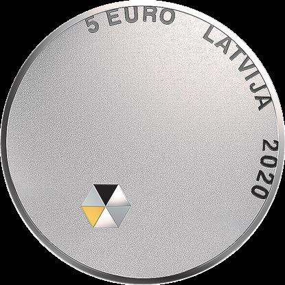5 euro Personiskā brīvība, 2020. gads. Averss.