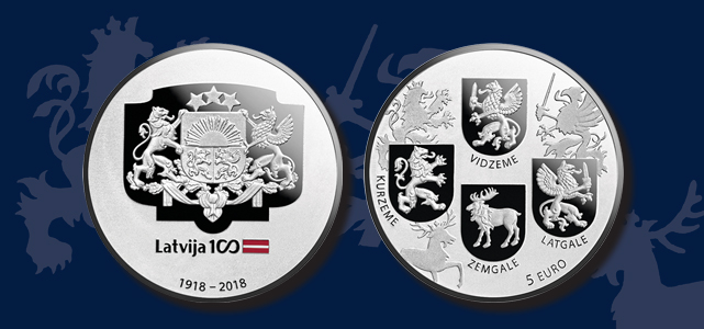 Coats of Arms Coin obverse and reverse