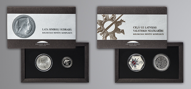 Special coin sets dedicated to the Centenary of the Republic of Latvia